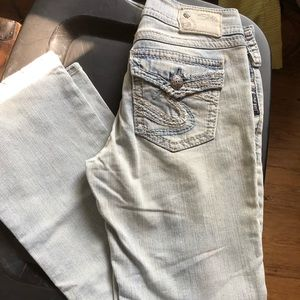 Silver 27x30 jeans